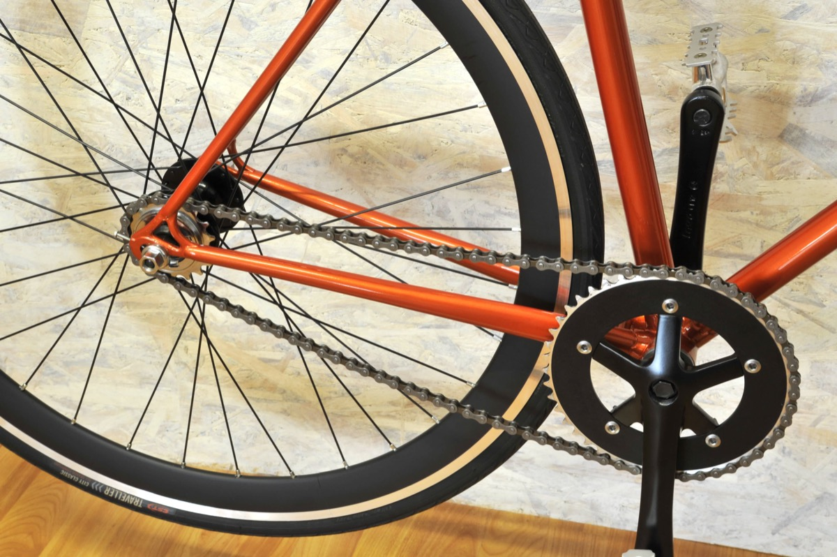 Single Speed Arancio Nera 2